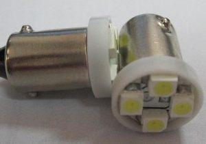 Auto LED Light BA9S 4SMD 3528