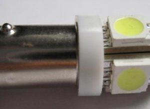 Car LED Bulb BA9S 5SMD 5050