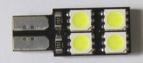 Auto LED Lights T10 Wedge 8SMD 5050