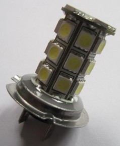 Auto LED SMD Light H7 27SMD 5050