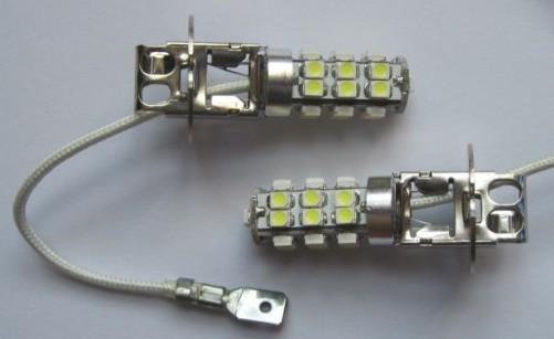 Popular H3 25SMD 3528 Car LED Lamp