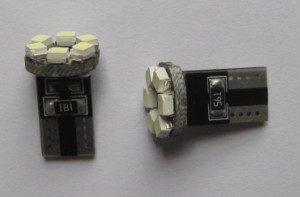 Auto LED Light 194 T10 6SMD Error Free