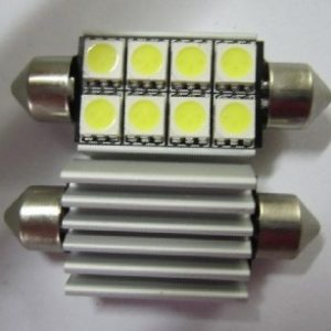 Automobile LED Lighting Festoon 8SMD No Warning