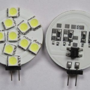 12V Car LED Light Bulb G4 12SMD 5050