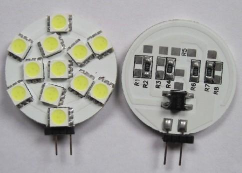 12V Car LED Light Bulb G4 12SMD 5050