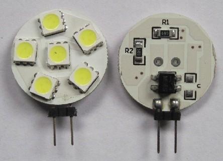 High Quality Auto LED Bulb G4 6 SMD 5050