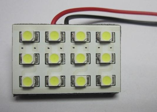12 SMD 3528 Plate Motor Vehicle LED Lighting