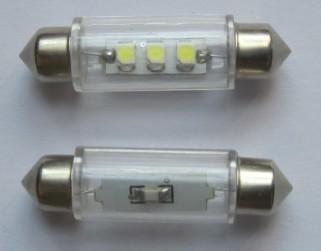 Popular Automotive LED Lighting Festoon 3 SMD 3528