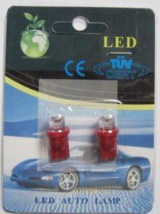 Popular W5W T10 Wedge 194 Auto LED Lamp Light