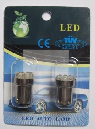 Tail Auto LED G18.5 1156 1157 BA15S BAY15D 9 LED