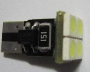 T10 Wedge 194 4SMD 5050 Car Light No Error Warning