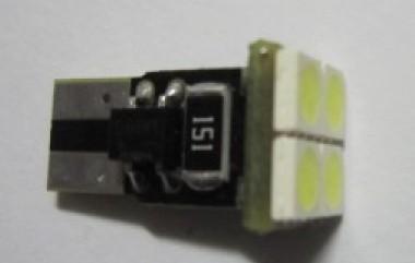 T10 Wedge 194 4SMD 5050 Car Light No Error Warning