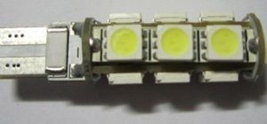 Car LED Lamp 194 W5W 13 SMD 5050 No Error Canbus