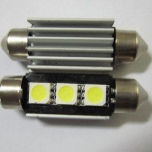 C5W Canbus Car LED Light Festoon 3 SMD 12V 24V