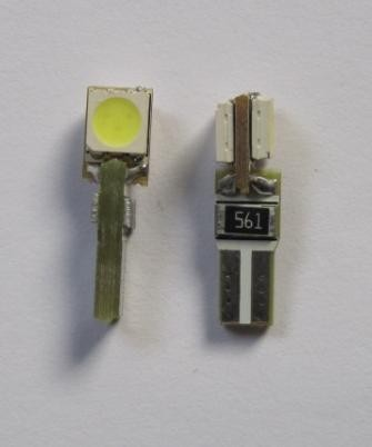 Auto LED Lighting T5 WG 74 2SMD 5050 Error Free