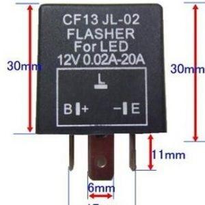 CF13 LED Flasher Automobile LED Lighting Relay