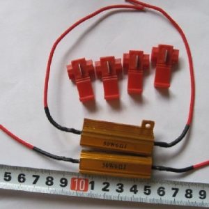 Auto LED 50W 6Ohm Resistor Relay No Warning