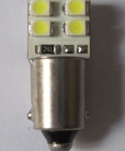 Auto LED Bulb W6W BA9S 8 SMD 3528 Car Lamp