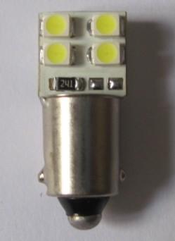 Auto LED Bulb W6W BA9S 8 SMD 3528 Car Lamp