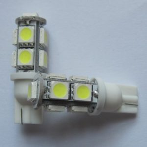 Best Selling T10 Wedge 194 9SMD 5050 Car LED Lamp