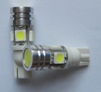 Automobile Lighting T10 WG 194 4SMD 5050 1Watt HP