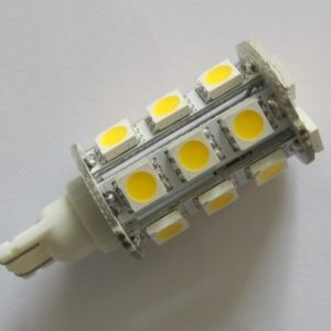 T15 Wedge Auto LED Lights 24 SMD 5050 Tail Lamp