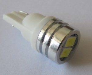 Automotive Car LED Bulb W5W T10 WG 2SMD 5630