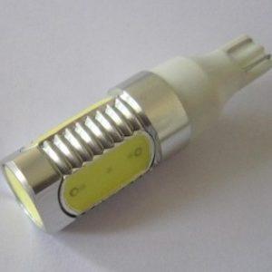 COB Chip 6W Watt T15 Wedg 192 Car LED Lamp