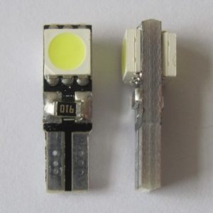 Car LED Lights T5 Wedge 2 SMD 5050 Canbus No Error