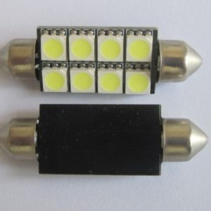 Automotive LED Light Festoon C5W 8 SMD 42MM