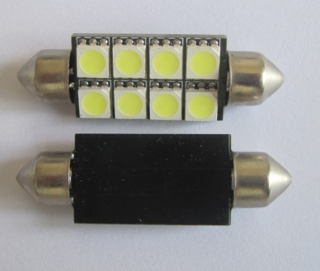 Automotive LED Light Festoon C5W 8 SMD 42MM