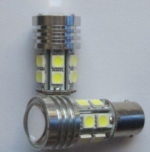 5W CREE Car LED Lamp High Power 12Volt 12SMD 5050