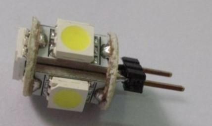 G4 5SMD 5050 Car LED Light Bulb 12Volt