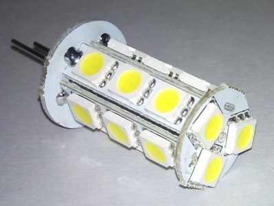 Auto LED Light Lamp G4 18SMD 5050 White color
