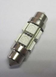 Automotive LED Bulb C5W Festoon 8SMD 5050 12V 24V