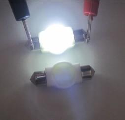 Auto LED Bulb C5W 1.5W COB Festom 31mm 36mm