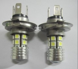 H4 Car LED Light 5W CREE 12SMD 5050 Fog Lamp