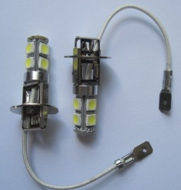 H1 H3 880 881 H27 9SMD 5050 Best selling Car LED