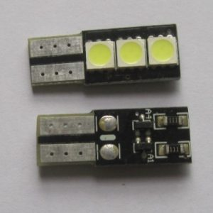 Automotive LED Light T10 WG 194 3SMD 5050 PCB Base