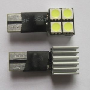 Car LED Lamp Canbus No Error Free 4SMD 5050
