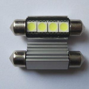 Festoon Canbus 4SMD 5050 Car LED Lamps No Error