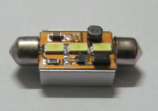Automotive LED SMD Lamp Festoon C5W 3SMD 5630