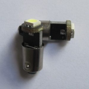 Car LED Bulb BA9S BAX9S 1SMD 5050 Canbus W6W
