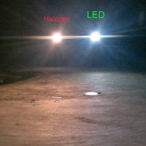 Car LED headlight H4 H7 20W