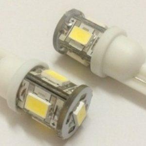 T10 Wedge 5 led SMD 5630 car LED lamp W5W