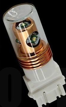 Automotive LED Lamp S25 Wedge 3157 3156 20W