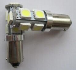 auto led light W6W BA9S T10 Canbus 9led 5050