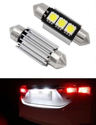 Automotive LED light Festoon 3SMD
