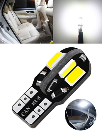 Automotive LED light T10 8SMD